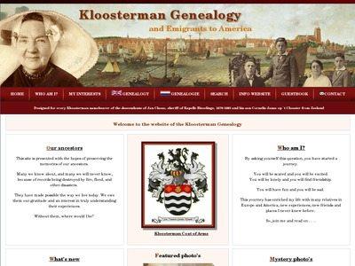 Kloosterman Genealogy